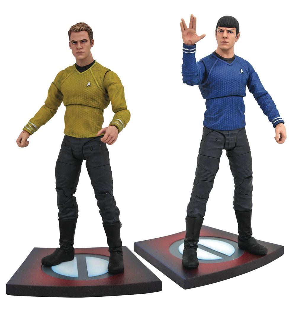 Star Trek Into Darkness Select Action Figures 18 cm Series 1 Assortment (6)