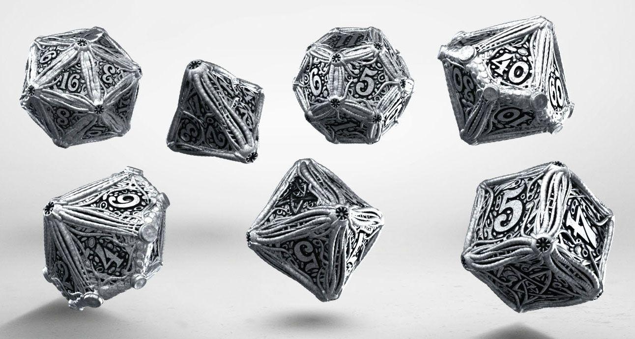 Call of Cthulhu Metal Dice Set (7)
