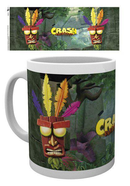 Crash Bandicoot Mug Aku Aku