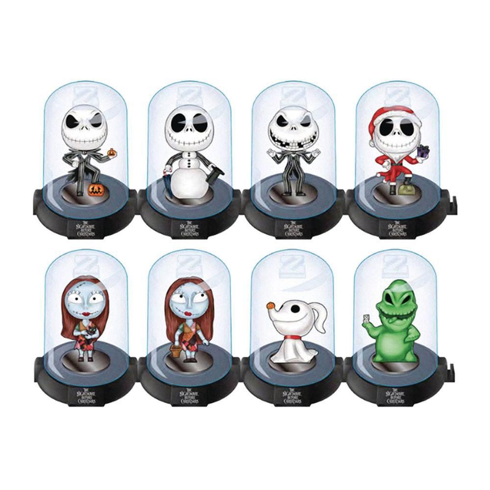 Nightmare Before Christmas Domez Mini Figures 7 cm Series 1 Display (24)