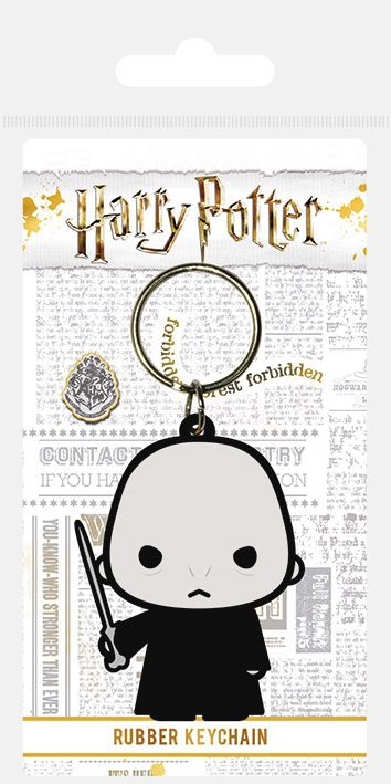 Harry Potter Rubber Keychain Chibi Voldemort 6 cm