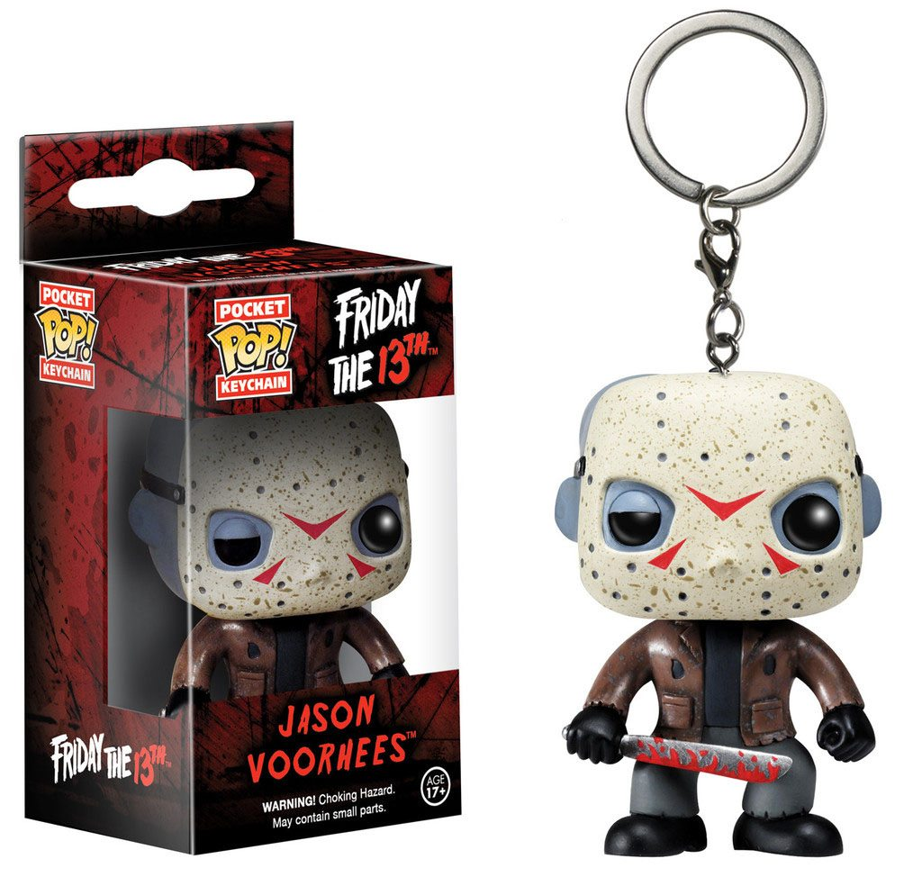Friday the 13th Pocket POP! Vinyl Keychain Jason Voorhees 4 cm