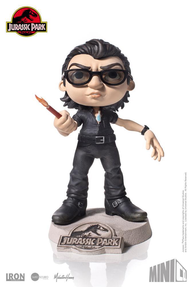 Jurassic Park Mini Co. PVC Figure Ian Malcolm 13 cm