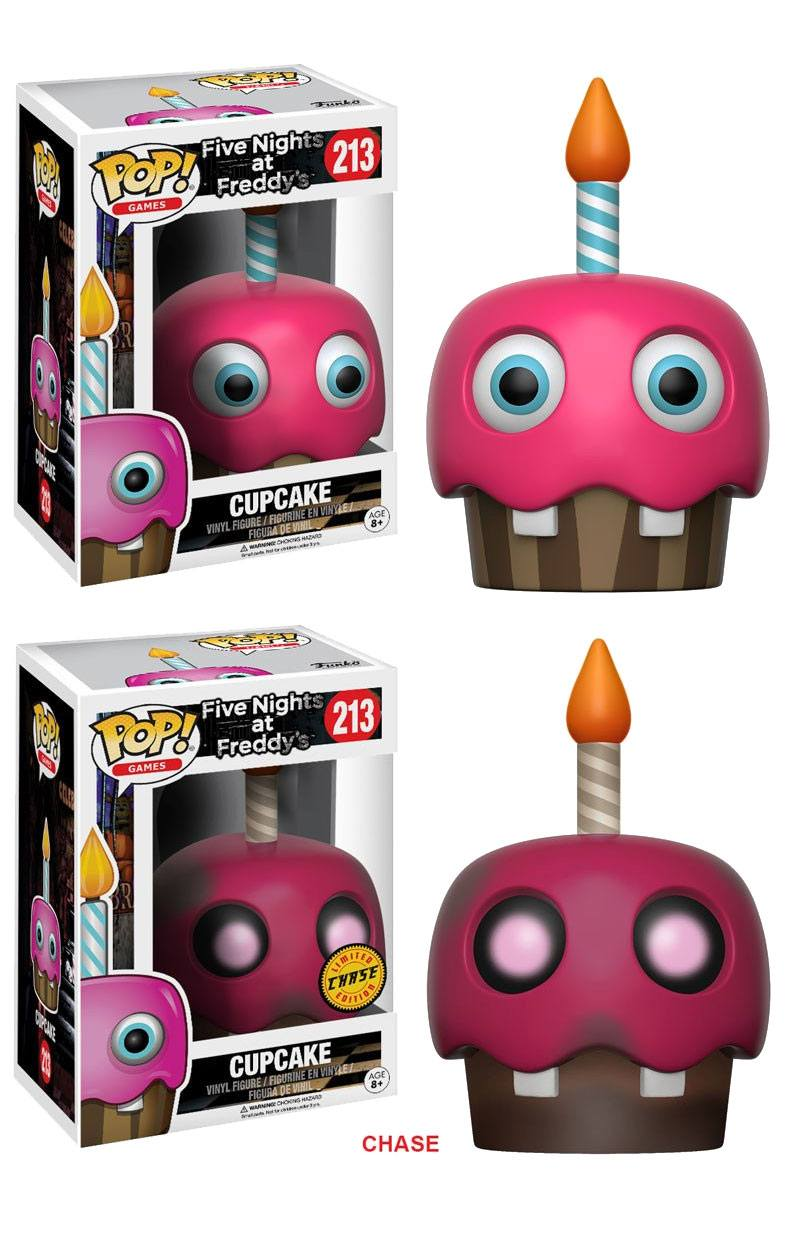 Five Nights at Freddy's POP! Games Figures Cupcake 9 cm Assortment (6)