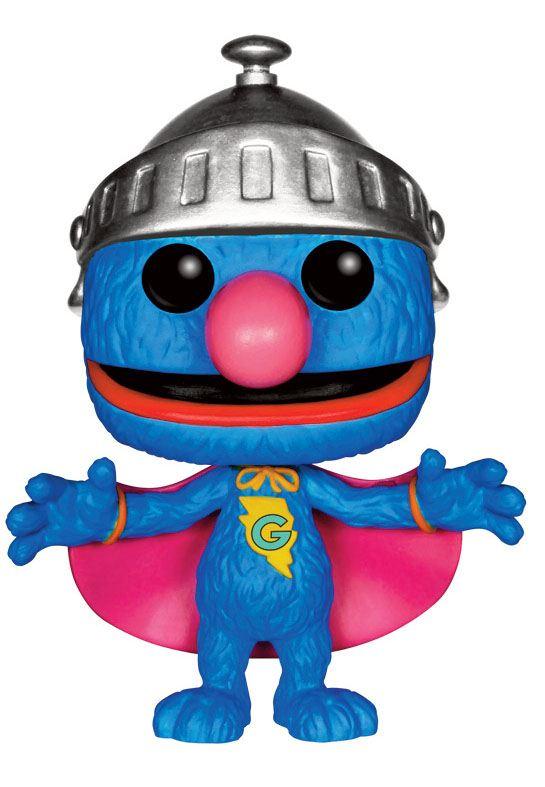 Sesame Street POP! TV Vinyl Figure Super Grover 9 cm