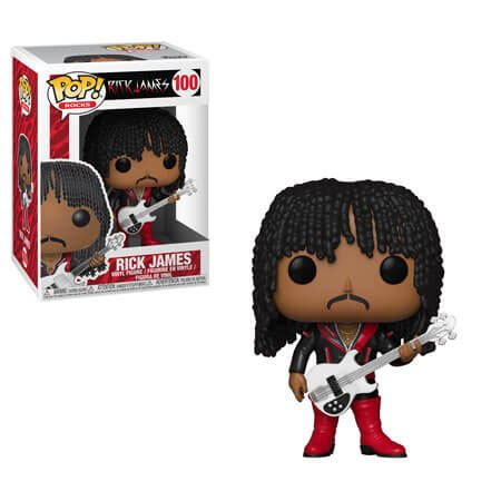 Rick James POP! Rocks Vinyl Figure Rick James - SuperFreak 9 cm