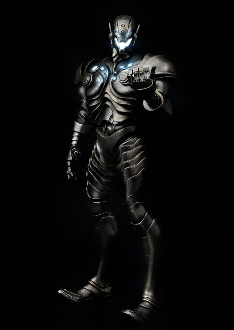 Marvel Action Figure 1/6 Shadow Ultron 34 cm --- DAMAGED PACKAGING