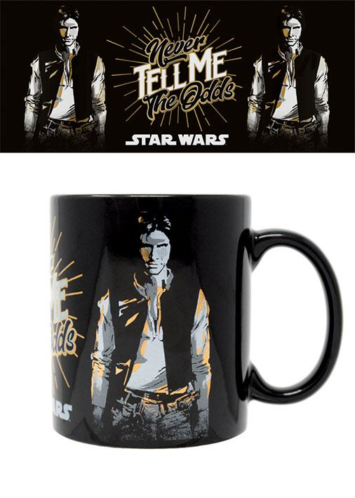 Star Wars Foil Mug Never Tell Me The Odds