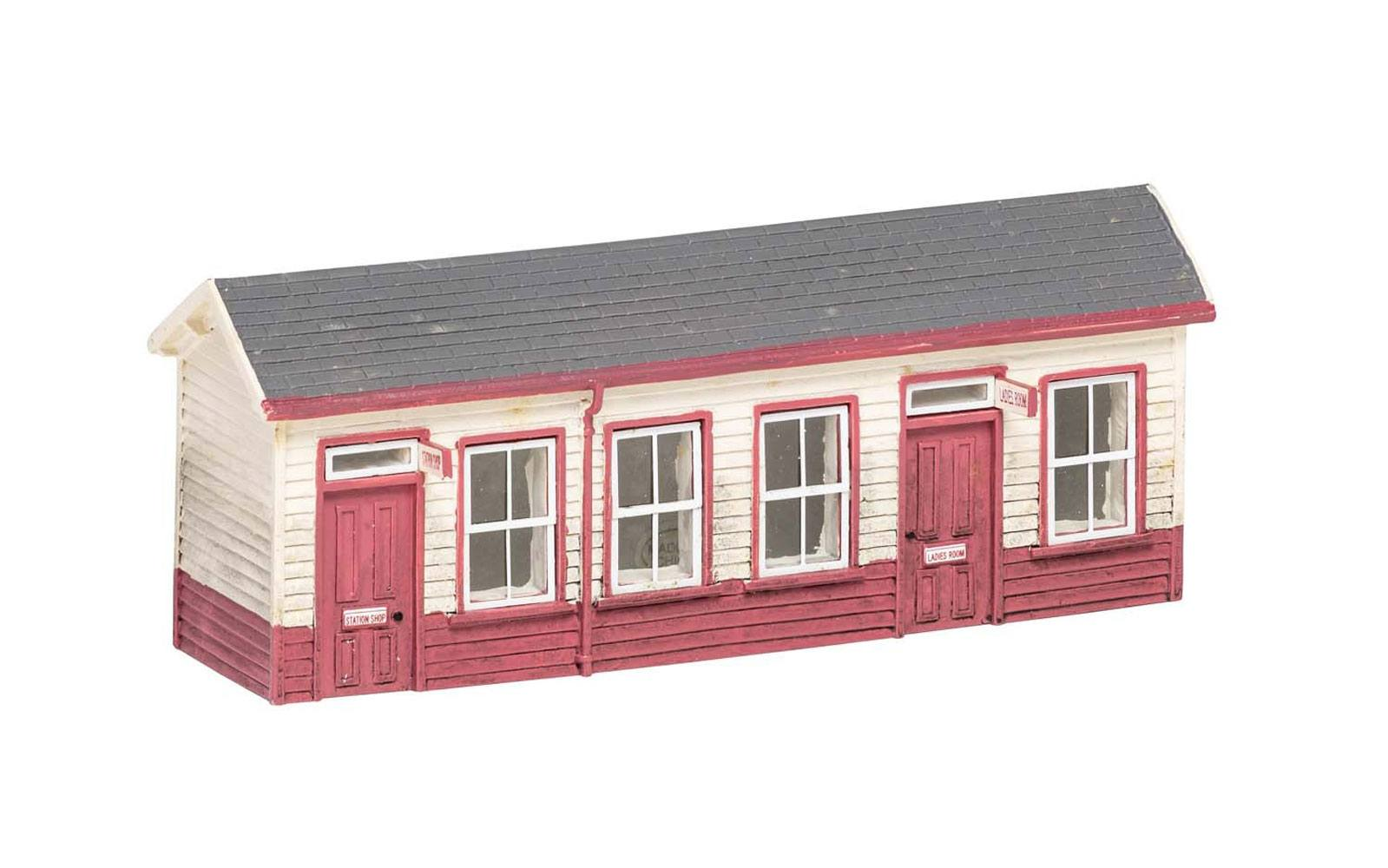 Harry Potter Model Railway Building 1/76 Hogsmeade Station - Waiting Room