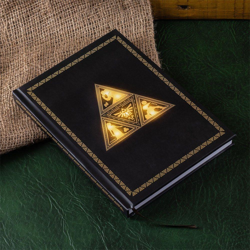 The Legend of Zelda Notebook Light Up Triforce