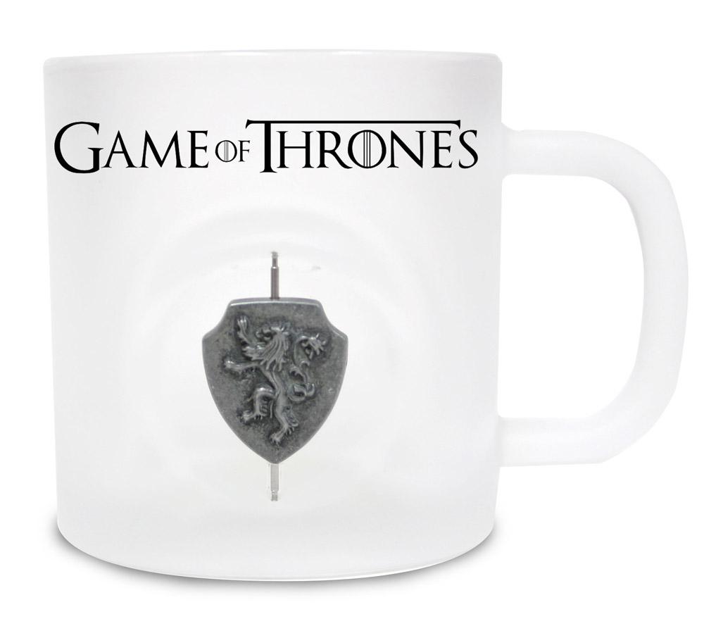 Game of Thrones Mug 3D Rotating Logo Lannister