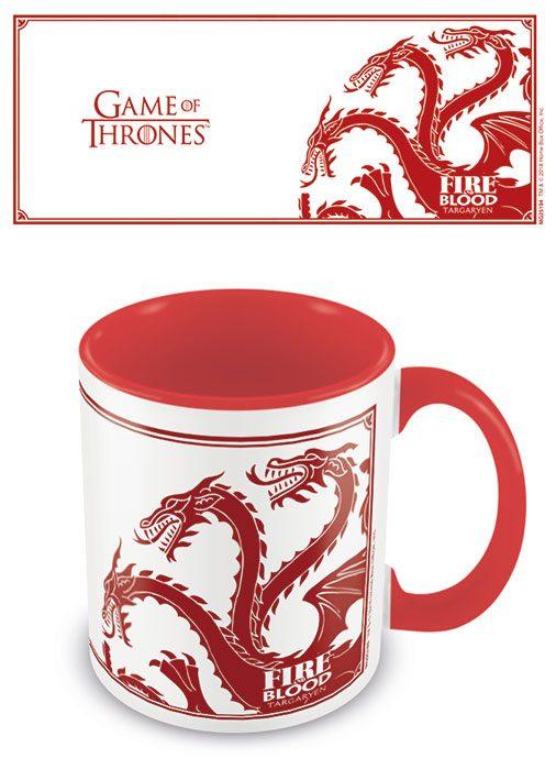 Game of Thrones Coloured Inner Mug Targaryen