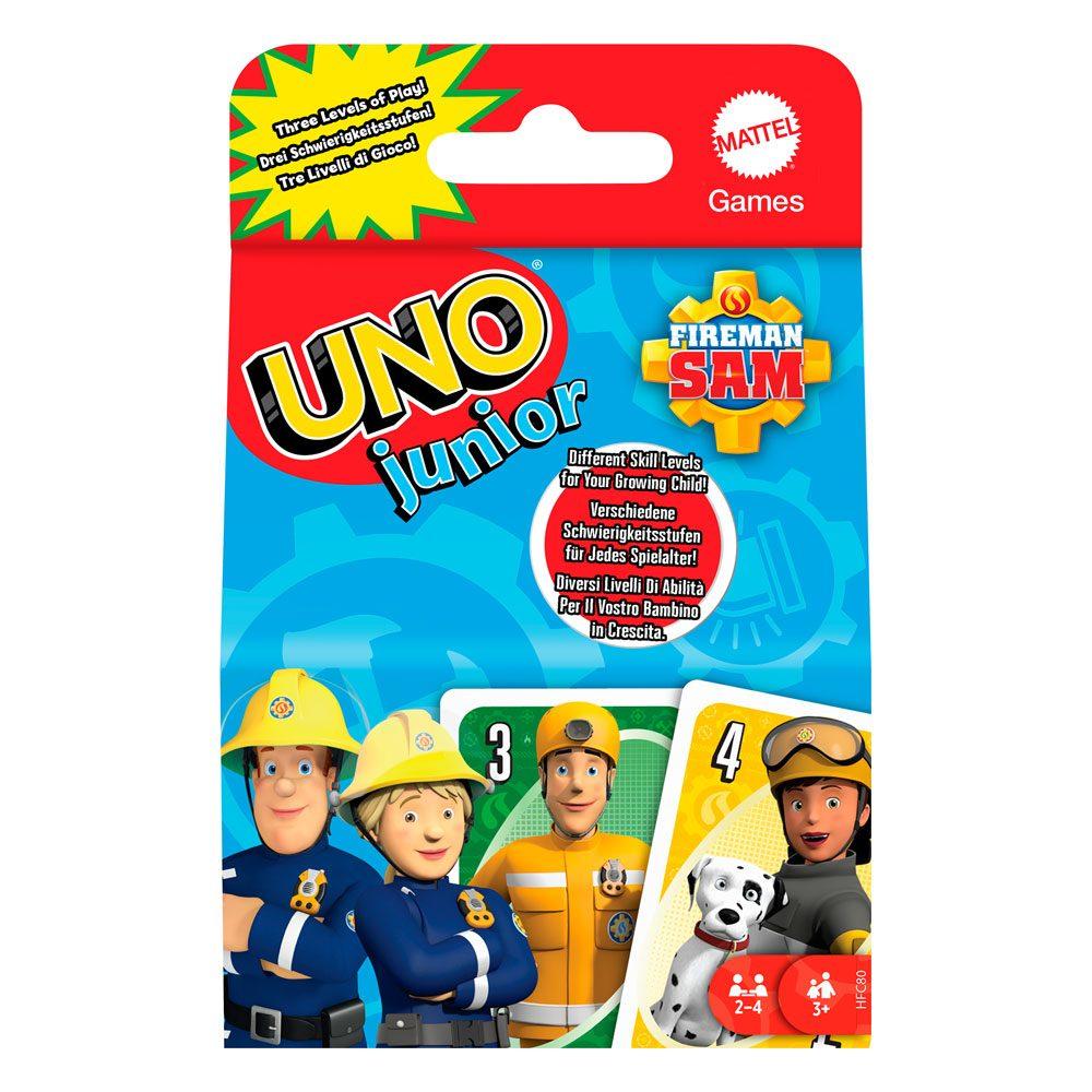 Fireman Sam Card Game UNO Junior