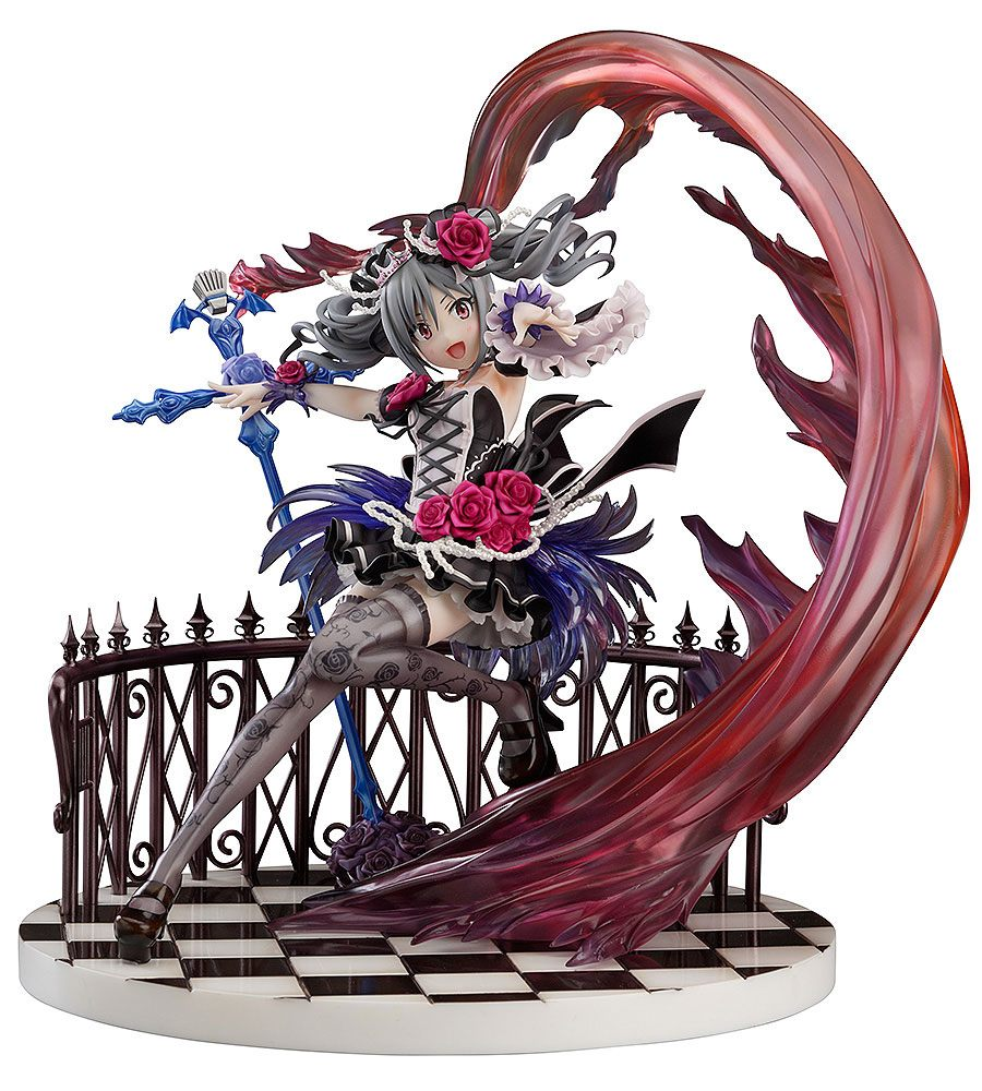 The Idolmaster Statue 1/8 Ranko Kanzaki Anniversary Princess Mad Banquet Ver. 24 cm --- DAMAGED PACKAGING