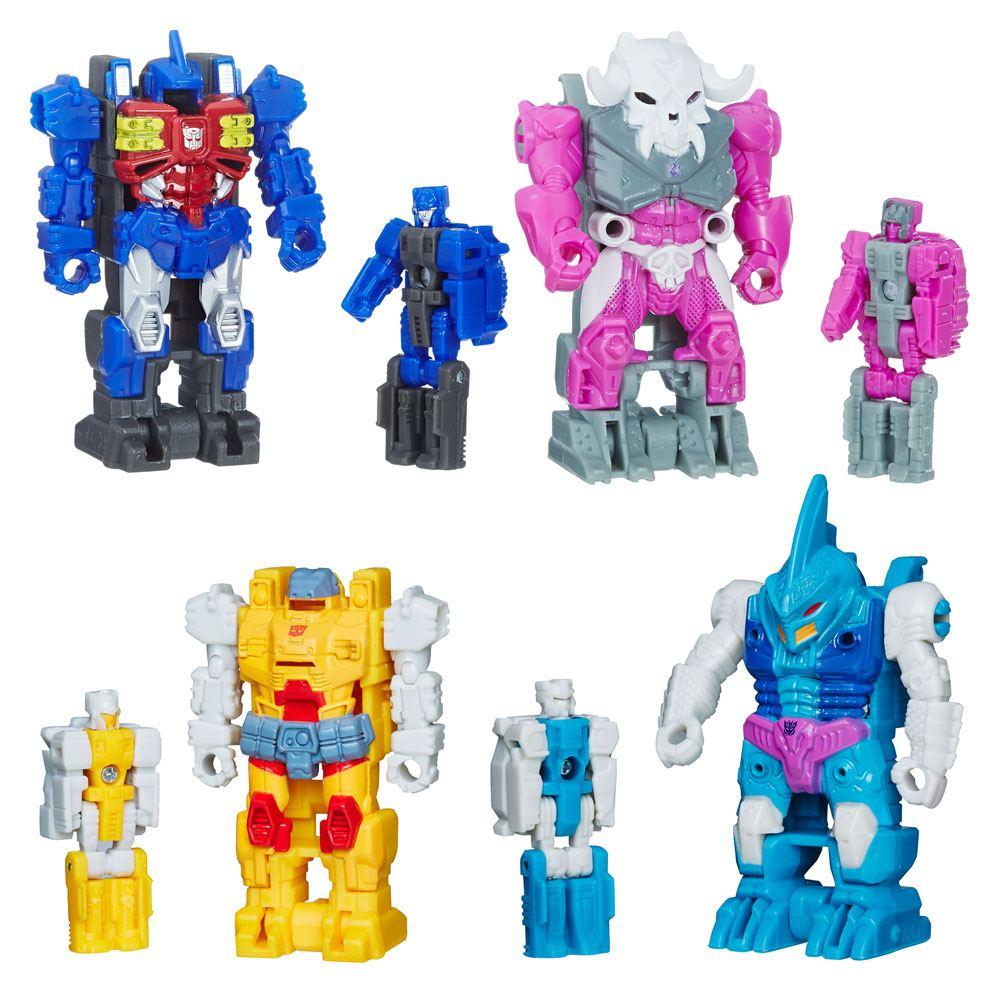 Transformers Generations Power of the Primes Action Figures Prime Master 2018 Wave 2 Assortment (12)