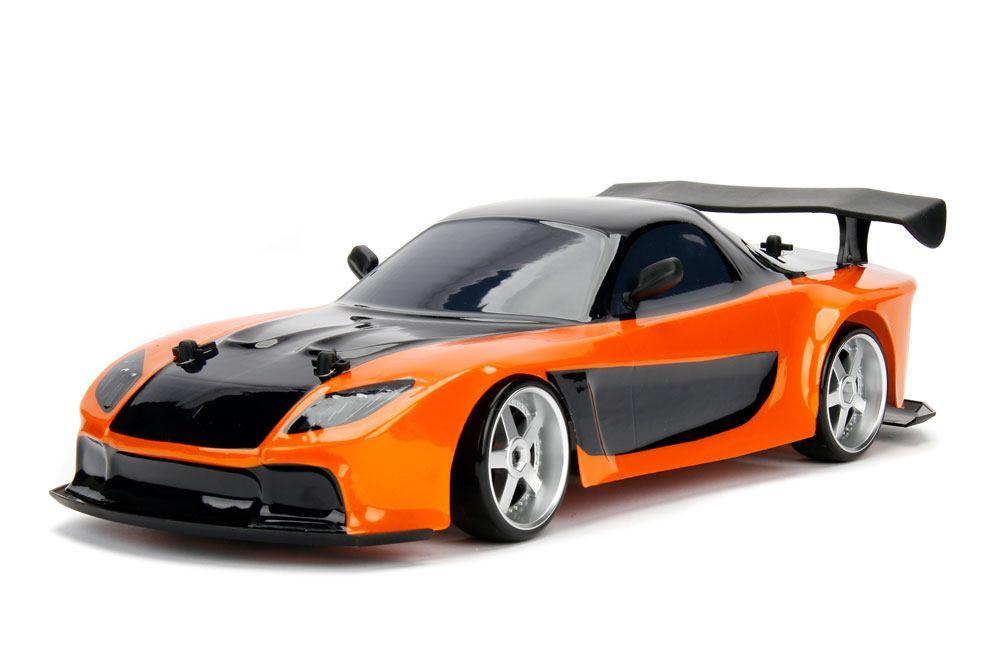 Fast & Furious RC Car 1/10 Mazda RX-7 Drift