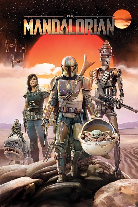 Star Wars: The Mandalorian Poster Pack Group 61 x 91 cm (5)