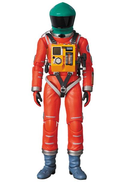 2001: A Space Odyssey MAF EX Action Figure Space Suit Green Helmet & Orange Suit Ver. 16 cm