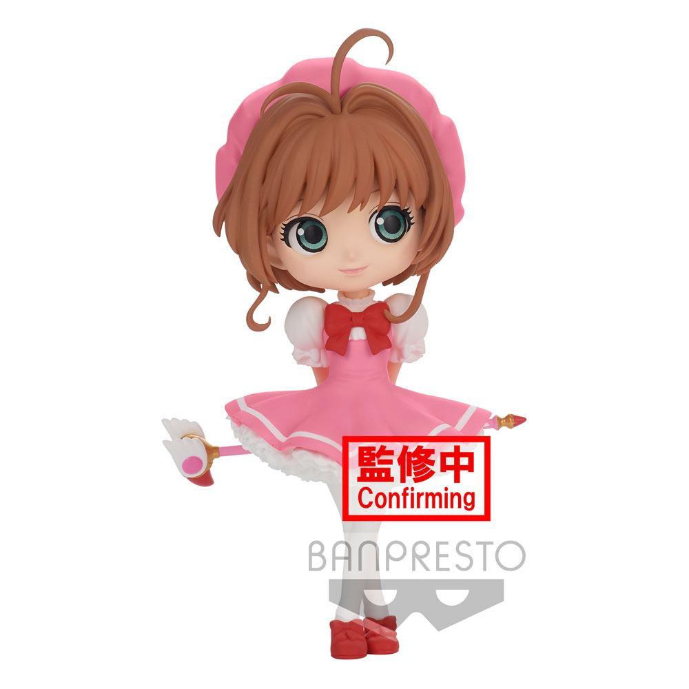 Cardcaptor Sakura Clow Card Q Posket Mini Figure Sakura Kinomoto Ver. A 14 cm