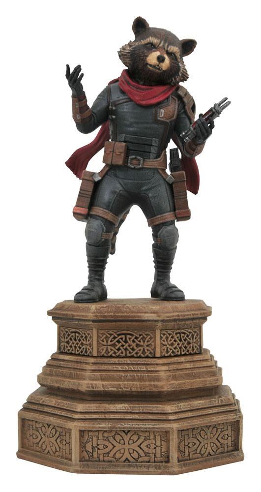 Avengers Endgame Marvel Movie Gallery PVC Statue Rocket Raccoon 18 cm