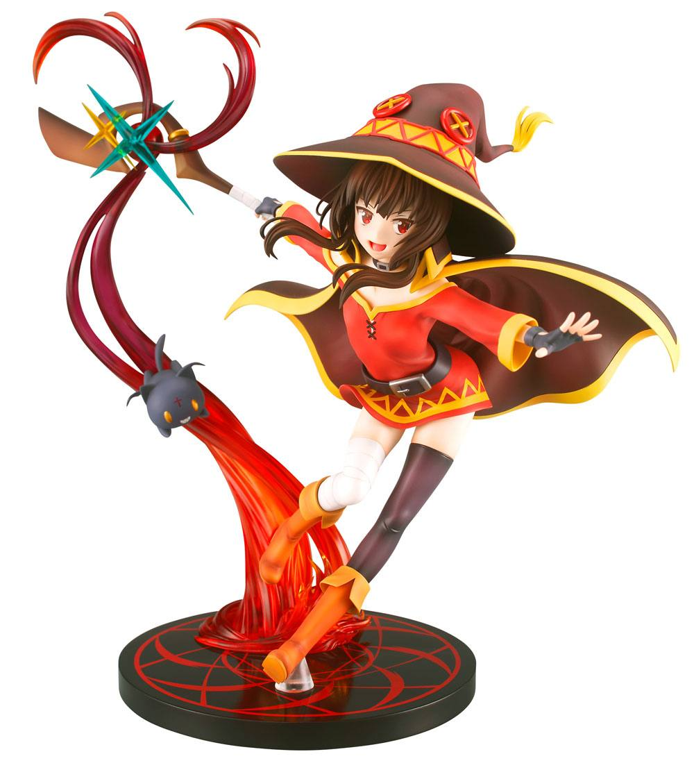 KonoSuba Legend of Crimson PVC Statue 1/7 Megumin Explosion Magic Ver. 25 cm