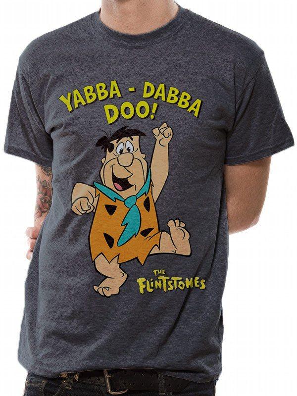 The Flintstones T-Shirt Yabba Dabba Doo Size S