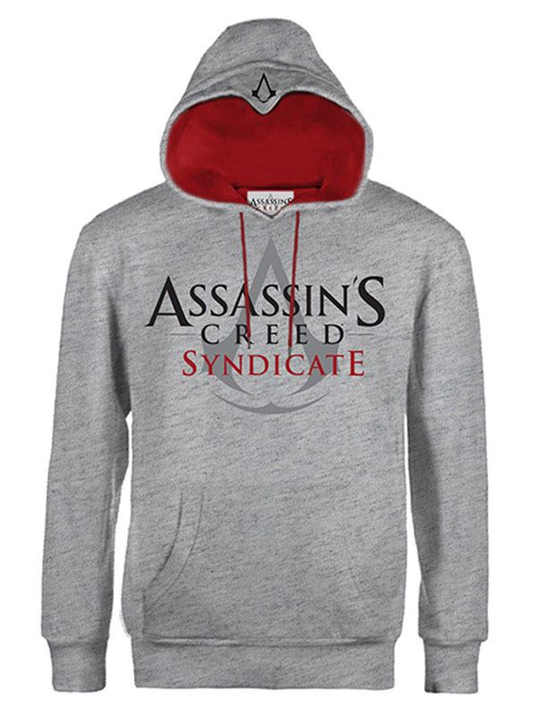 Assassin's Creed Syndicate Hooded Sweater Classic Logo Grey Size M