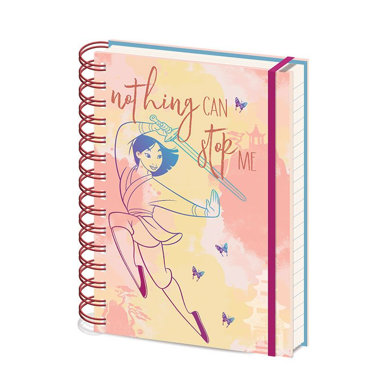 Mulan Wiro Notebook A5 Nothing Can Stop Me