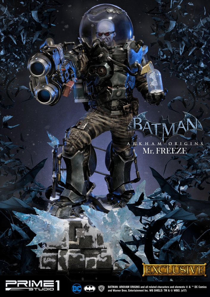 Batman Arkham Origins Statue Mr. Freeze & Mr. Freeze Exclusive 89 cm Assortment (3)