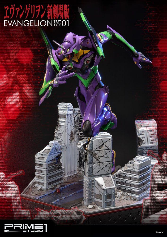 Neon Genesis Evangelion Statue EVA Test Type-01 77 cm