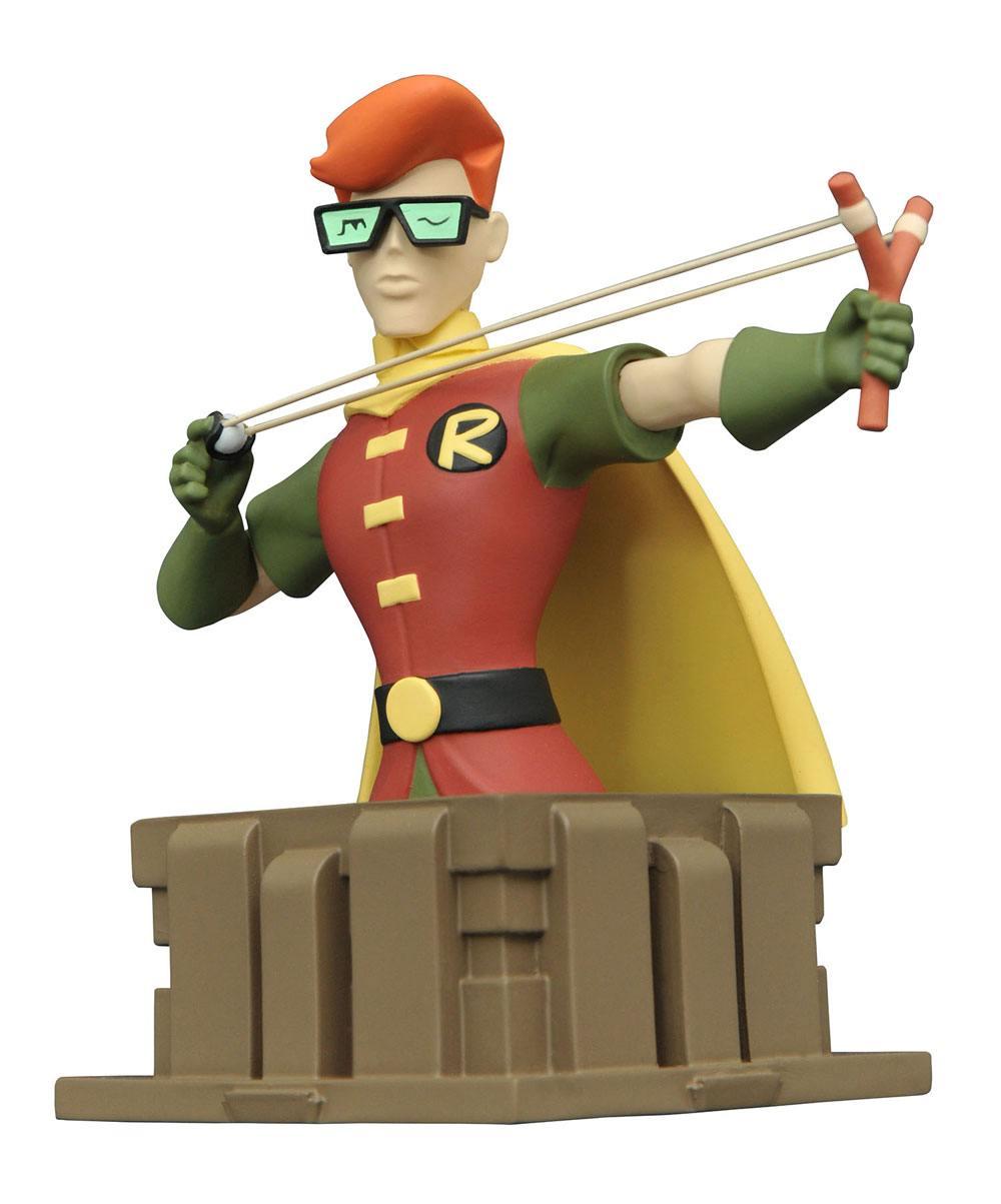Batman The Animated Series Bust Dark Knight Robin 13 cm