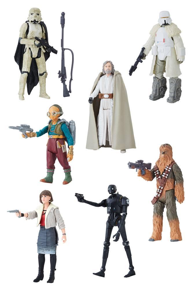 Star Wars Force Link 2.0 Action Figures 10 cm 2018 Wave 1 Assortment (12)