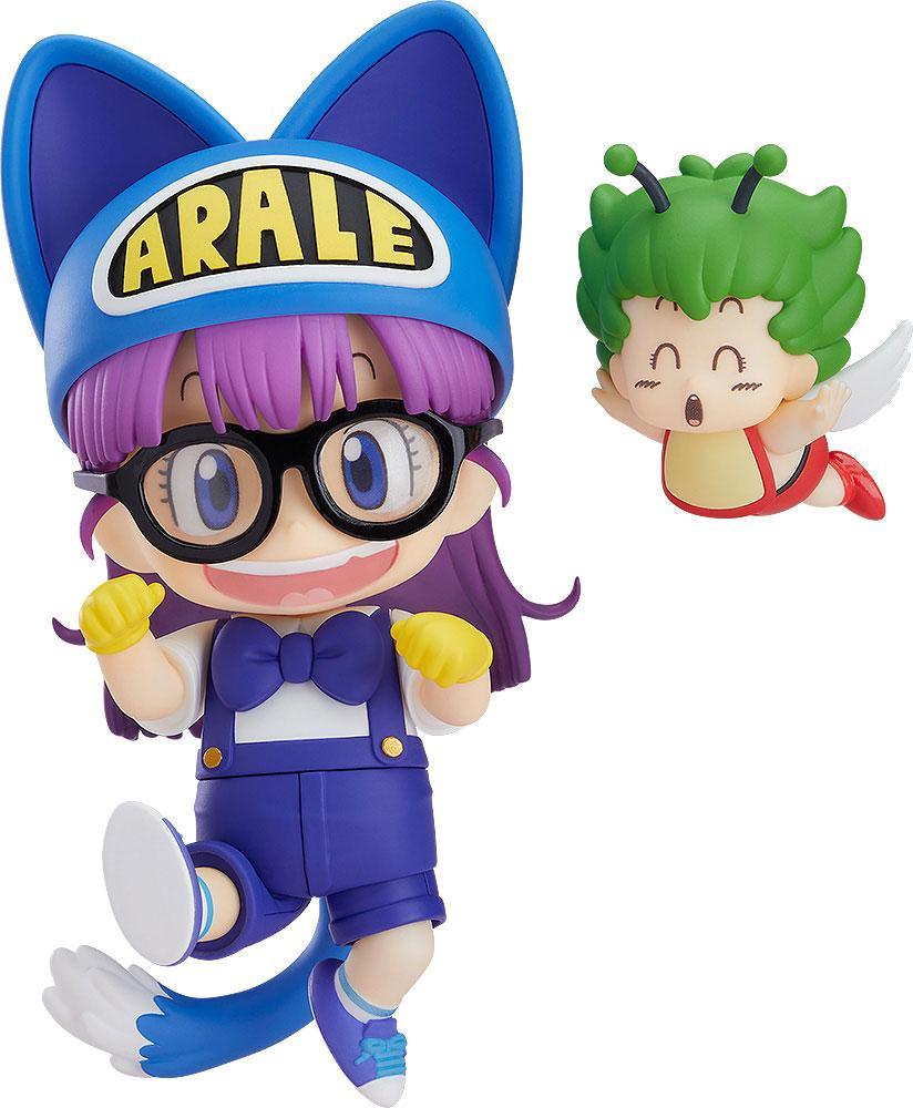Dr. Slump Nendoroid Action Figure Arale Norimaki Cat Ears Ver. & Gatchan 10 cm