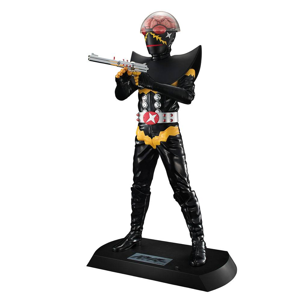 Mechanical Violator Hakaider Ultimate Article PVC Statue Hakaider 40 cm