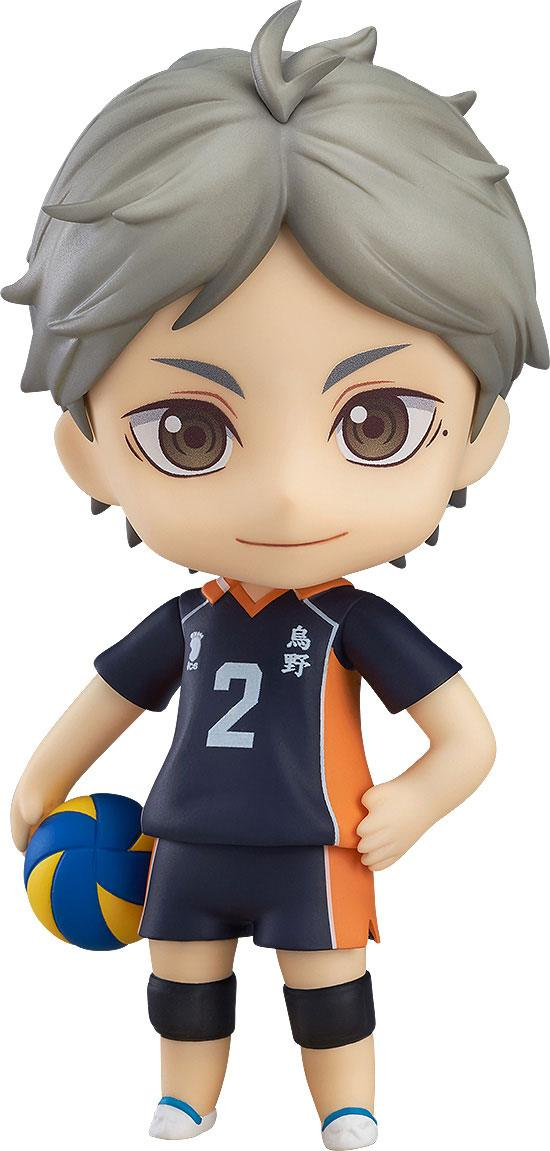 Haikyu!! Third Season Nendoroid Action Figure Koushi Sugawara 10 cm