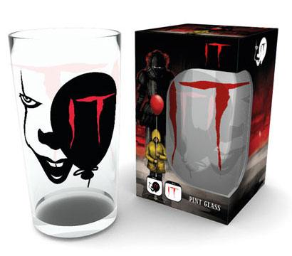 It Pint Glass Pennywise Face