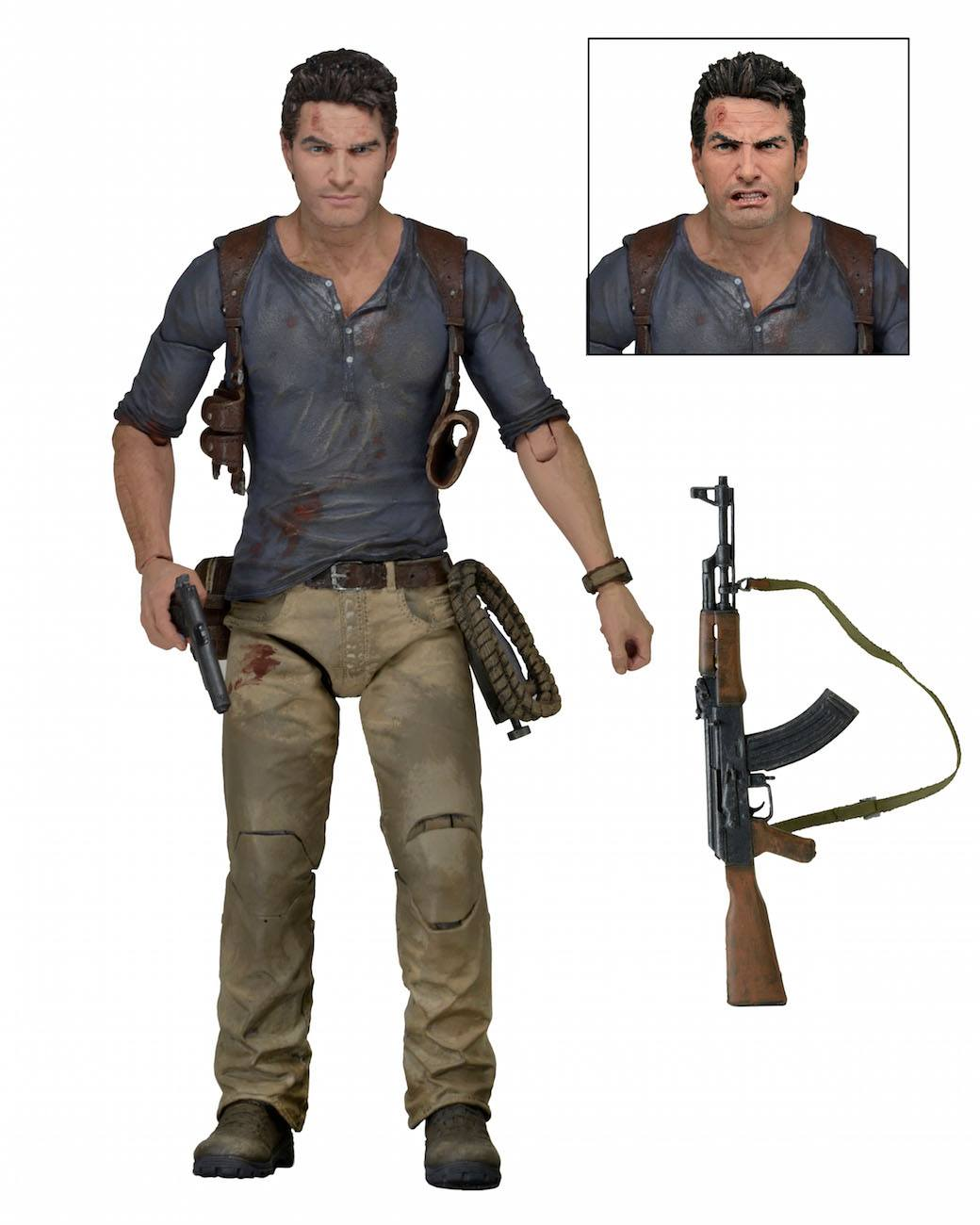 Uncharted 4 Action Figure Ultimate Nathan Drake 18 cm