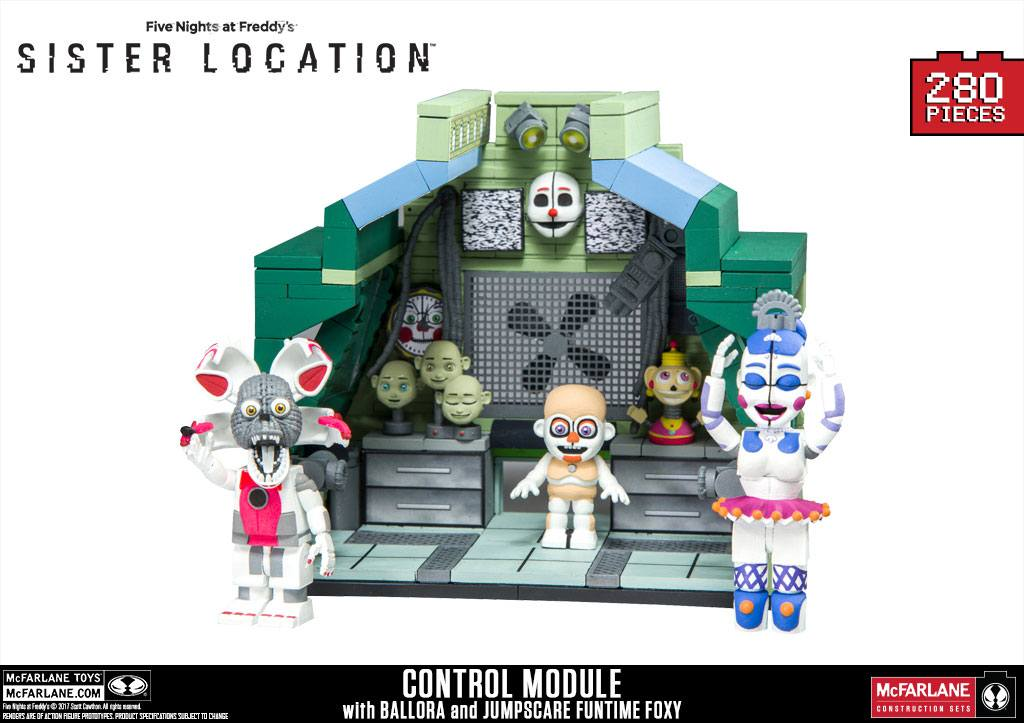 Five Nights at Freddy´s Large Construction Set Control Module