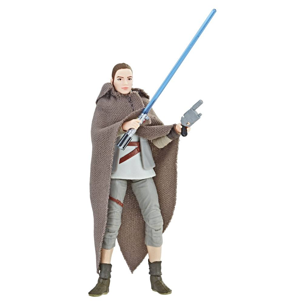 Star Wars Episode VIII Black Series Vintage Action Figure 2018 Rey (Island Journey) Exclusive 10 cm --- DAMAGED PACKAGING