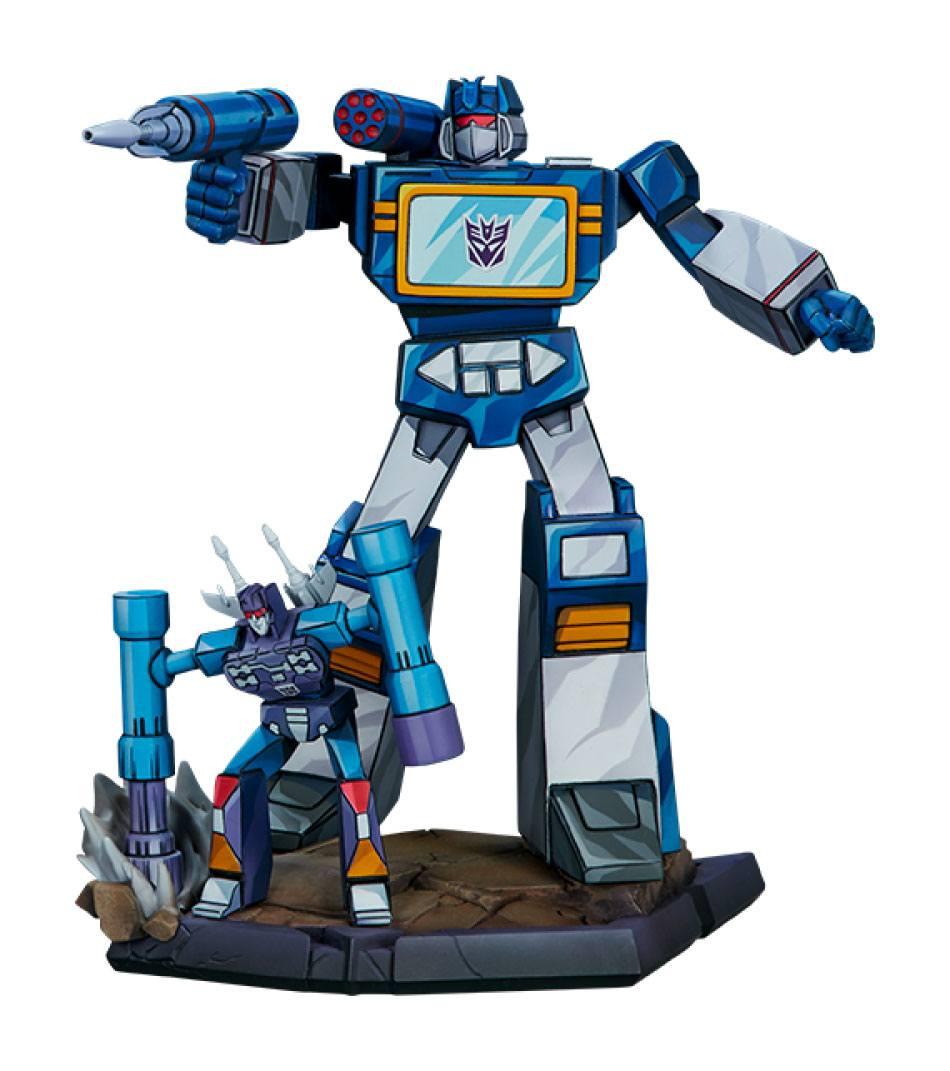 Transformers Classic Scale Statue Soundwave 24 cm