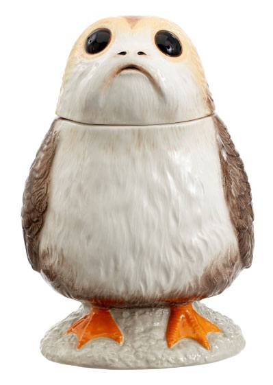 Star Wars Episode VIII Cookie Jar with Sound Porg --- DAMAGED PACKAGING