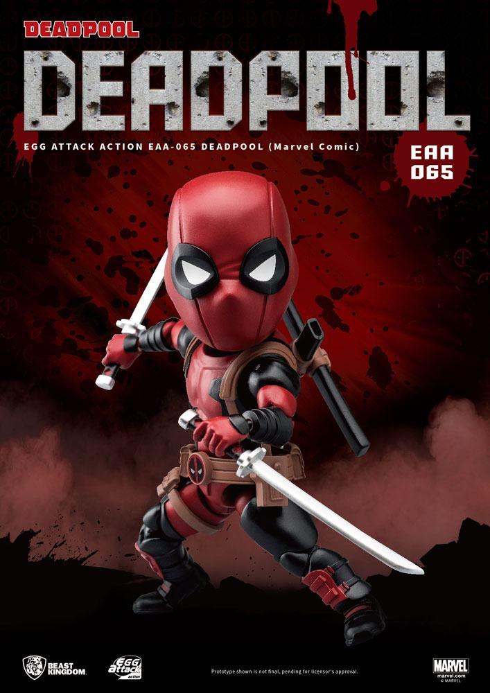 Marvel Comics Egg Attack Action Figure Deadpool 17 cm