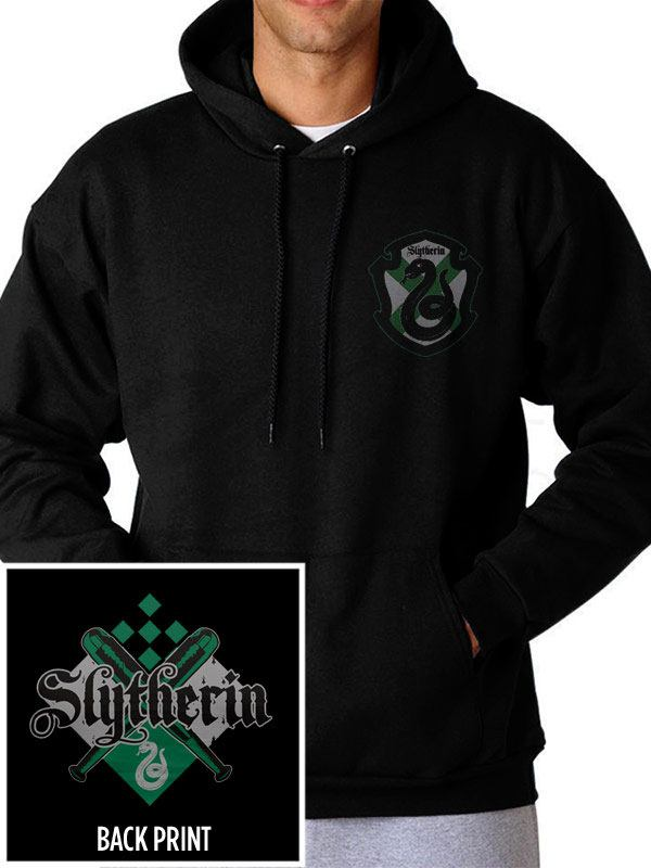 Harry Potter Hooded Sweater House Slytherin Size L