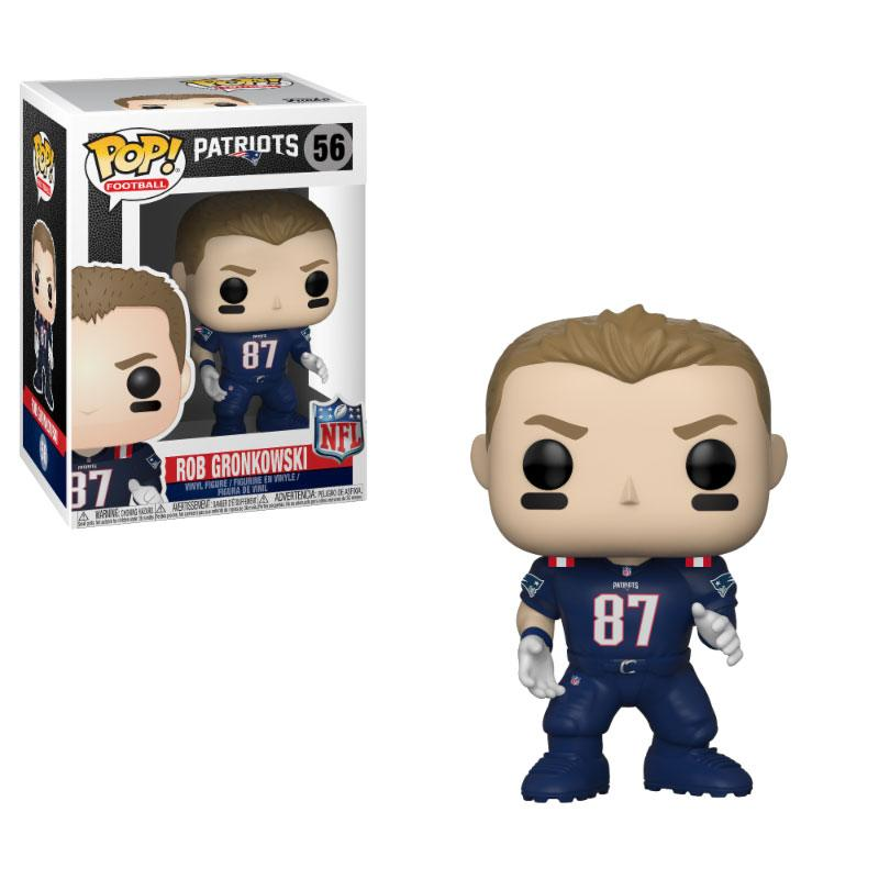 NFL POP! Football Vinyl Figure Rob Gronkowski (Patriots Color Rush) 9 cm