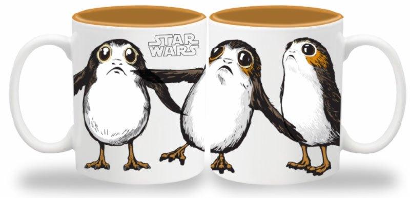 Star Wars Episode VIII Mug Porgs