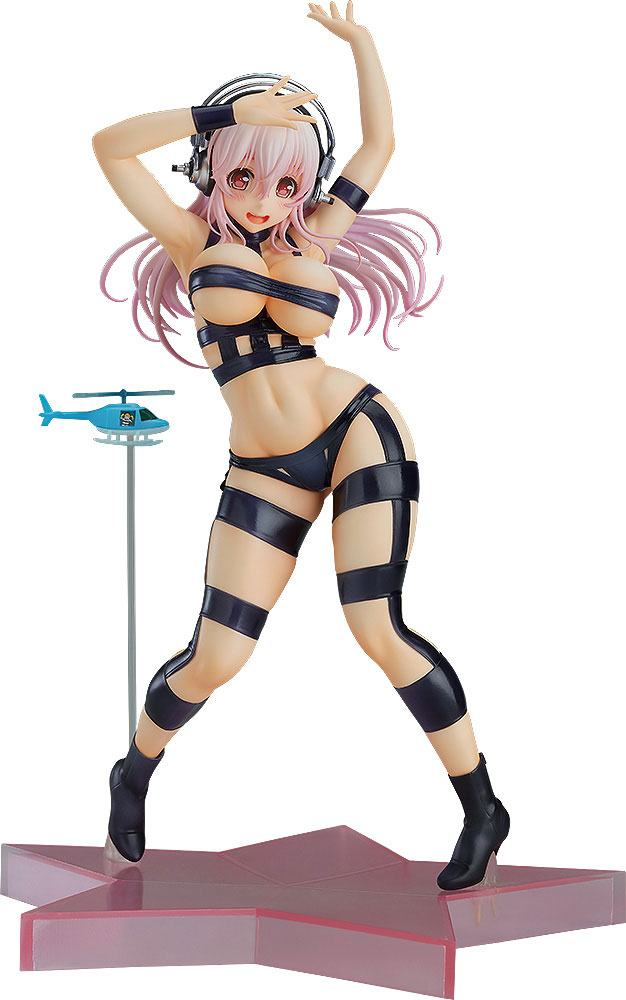 T.M.Revolution / Super Sonico Statue 1/7 Super Sonico Hot Limit Version 24 cm