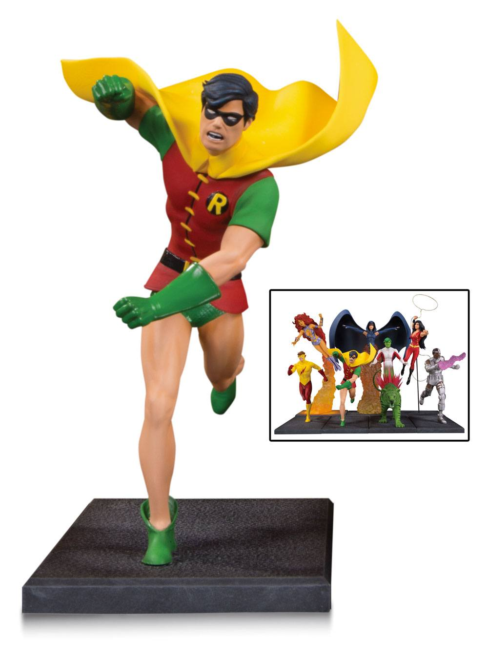 Teen Titans Multi-Part Statue Robin 19 cm (Part 1 of 7)