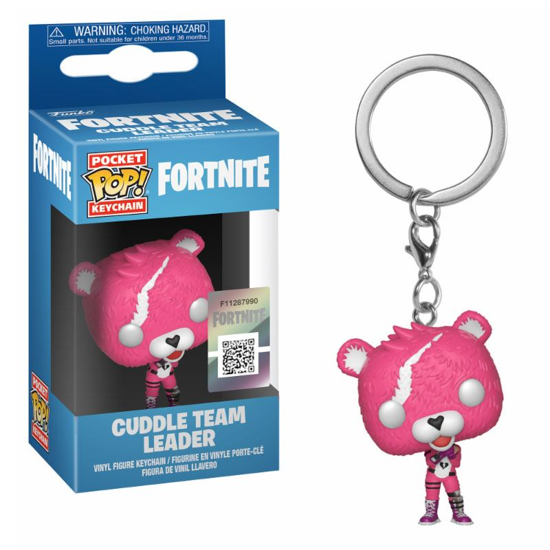 Fortnite Pocket POP! Vinyl Keychain Cuddle Team Leader 4 cm