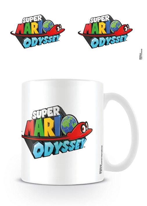 Super Mario Odyssey Mug Logo