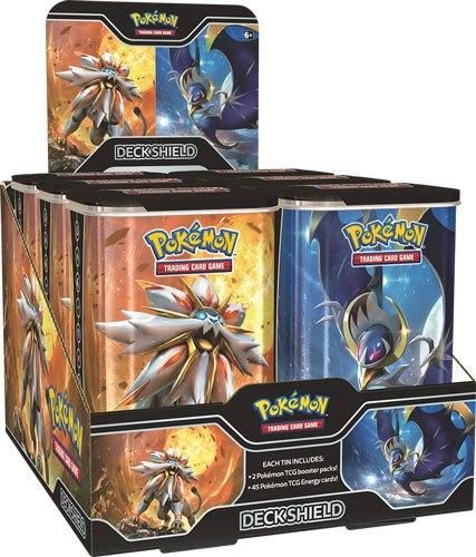 Pokemon Deck Shield Tins Display (6)